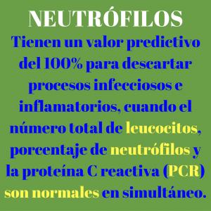 Neutrófilos e infección.