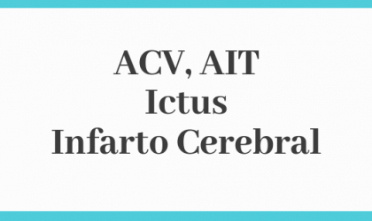 ACV ICTUS