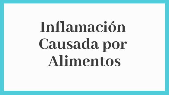 Test de Inflamación Alimentaria