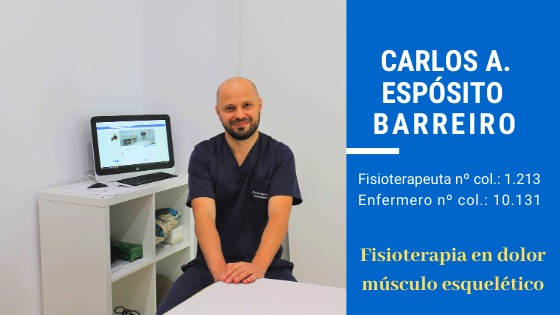 Fisioterapeuta Carlos Espósito