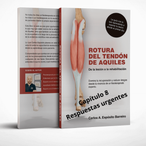 Portada libro rotura del tendon de Aquiles Capítulo 8