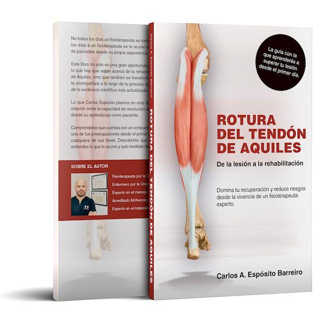 Libro rotura del tendon de aquiles